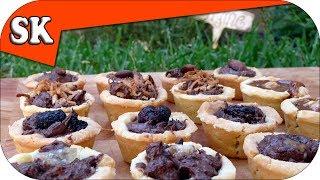 Gluten Free Nutella Tassie Tarts - Valentine Chocolate Treats