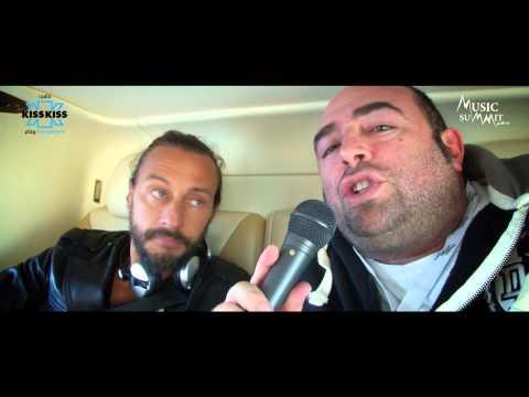 Bob Sinclar - Intervista con Radio Kiss Kiss @St.Moritz Music Summit