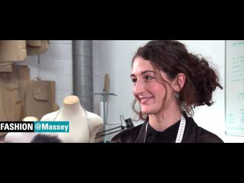 GRACE REDGRAVE - FASHION DESIGN GRADUATE NZ FASHION WEEK 2016 | Massey University