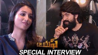 KGF Movie Team Special Interview | Rocking Star Yash | Srinidhi Shetty | TFPC