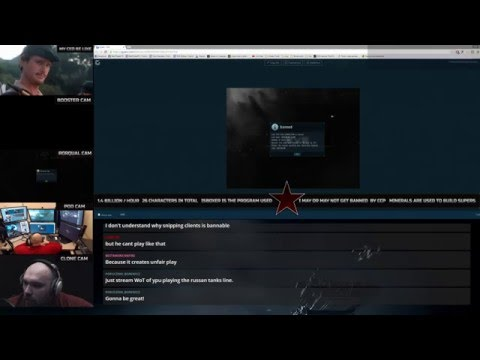 EVE Online : ISBoxer Getting Banned On LiveStream