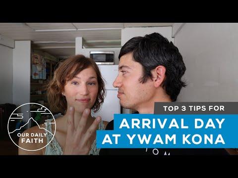YWAM Kona Dorm Room Tour - Week #1 Family DTS - Our Daily