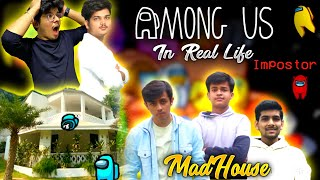 PLAYING REAL LIFE AMONG US 😱WITH CRAZY CHALLENGES IN TSG MADHOUSE 🥰WITH ALL TSG MEMBERS-Vlog 32