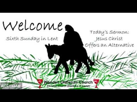 Zoom Worship - Palm Sunday, March 28