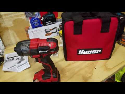 Harbor Freight Bauer 20V Hypermax™ Lithium 1/4 in. Hex Compact Impact Driver Kit Review