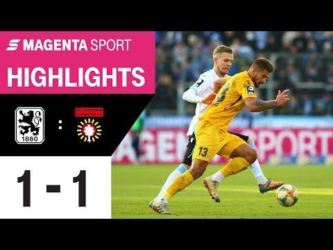 1860 München - SG Sonnenhof Großaspach   Spieltag 18, 19/20   MAGENTA SPORT