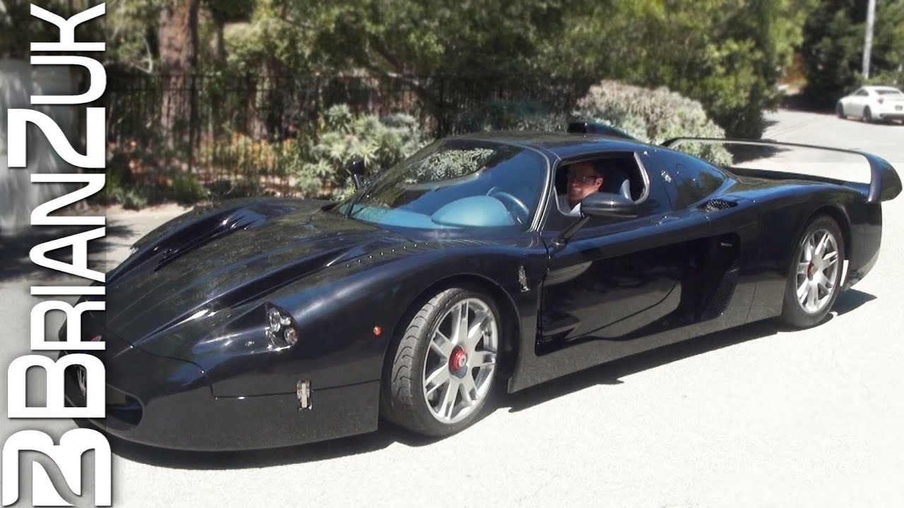 black maserati mc12 youtube. Black Bedroom Furniture Sets. Home Design Ideas