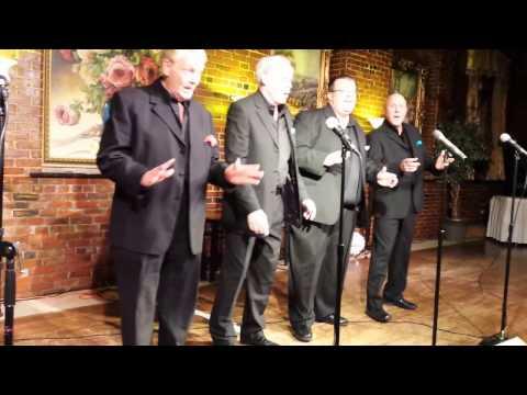 Walking Round in Women's Underwear performed by Stag Party Quartet, members of Gentlemen Songsters