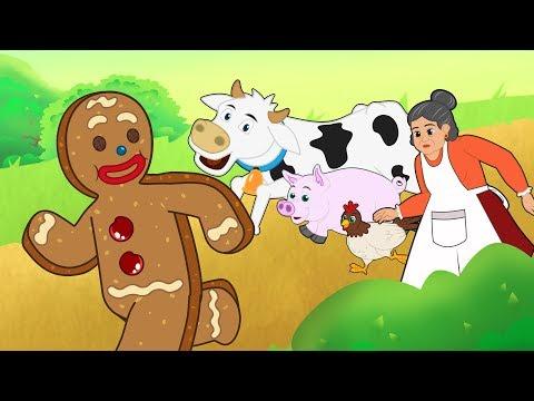 O Homem Biscoito de Gengibre | conto e musicas | com Os Amiguinhos