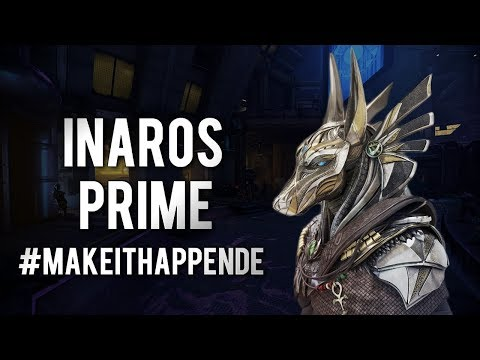Warframe: INAROS PRIME CONCEPT | makeithappenDE...Please thumbnail