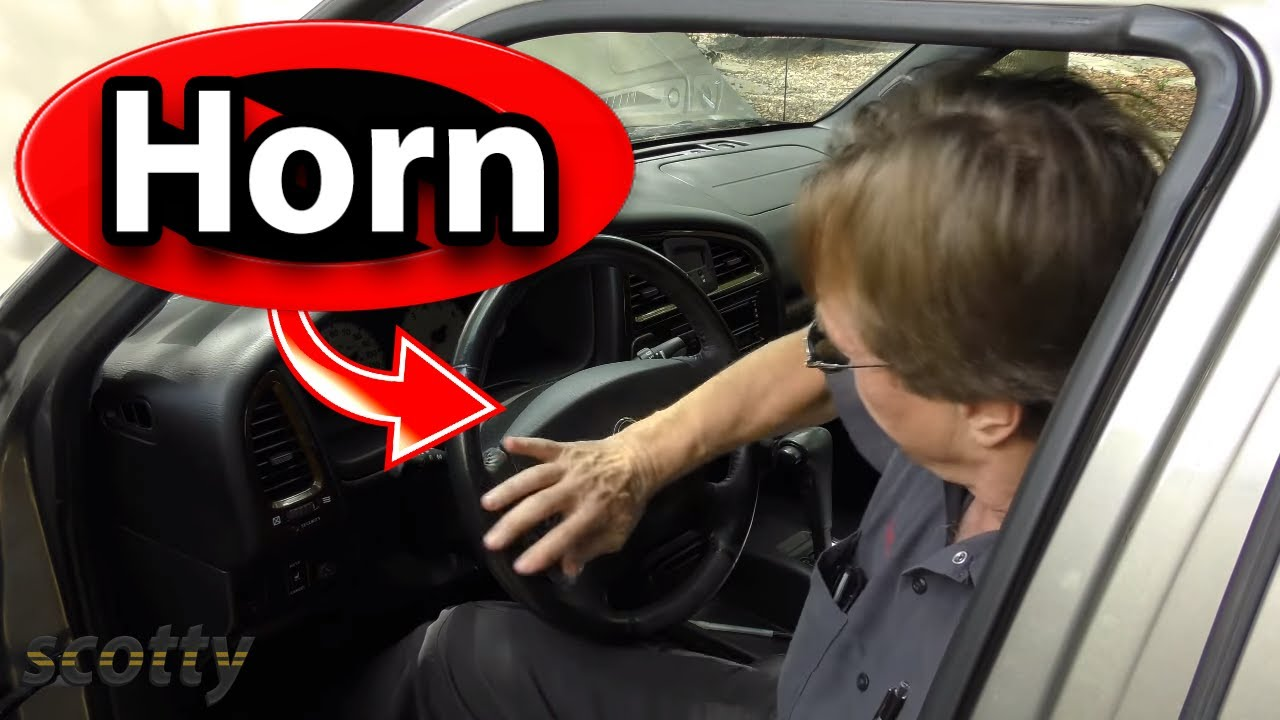 How to Fix Car Horn - YouTube  Mitsubishi Lancer Horn Wiring Diagram on chevy tahoe horn wiring diagram, toyota camry horn wiring diagram, acura tl horn wiring diagram, ford f250 horn wiring diagram,