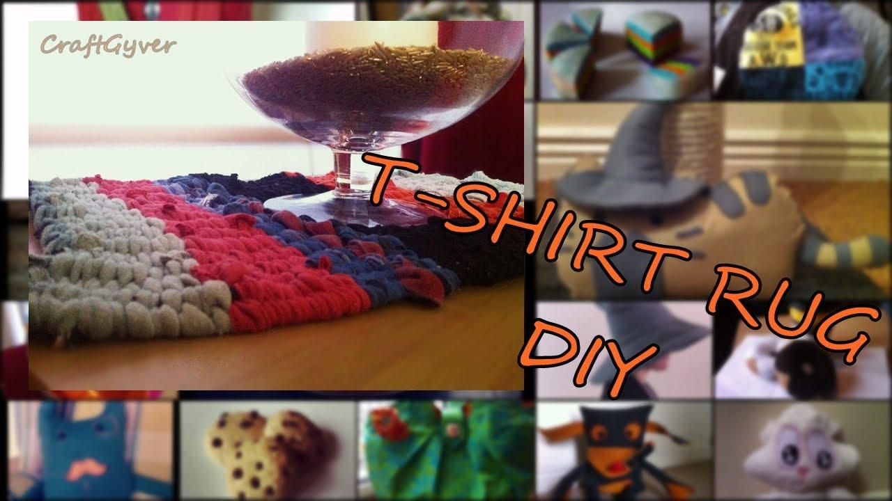 T Shirt Rug DIY   YouTube