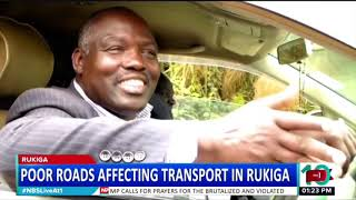 Poor roads affecting roads in Rukiga district