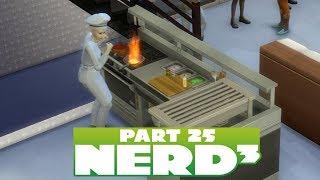 Nerd³ Lives in The Sims 4 - 25 - Chef De Cuisine