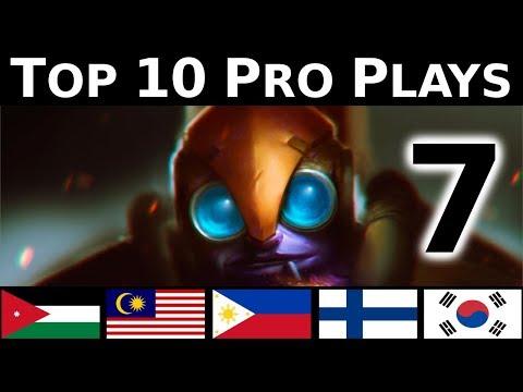 Dota 2 Top 10 Pro plays 7 - STYLE PLAYS !