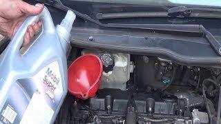 Changer filtre à huile & vidange moteur pas à pas