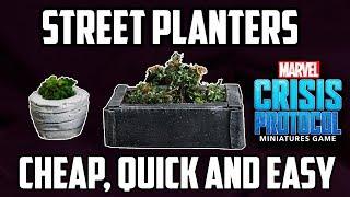 Miniature Street Planters - Cheap, Quick & Easy