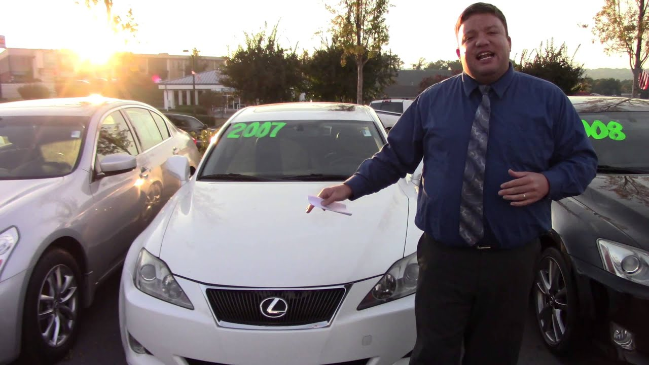 Hey Yolanda and Shawn CHECK OUT THIS 2007 LEXUS IS250 FROM