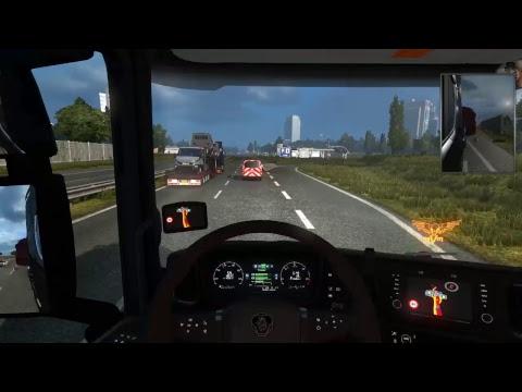 ETS 2 DLC Spezialtransport SLC auf Tour mit Maulwurf # 2