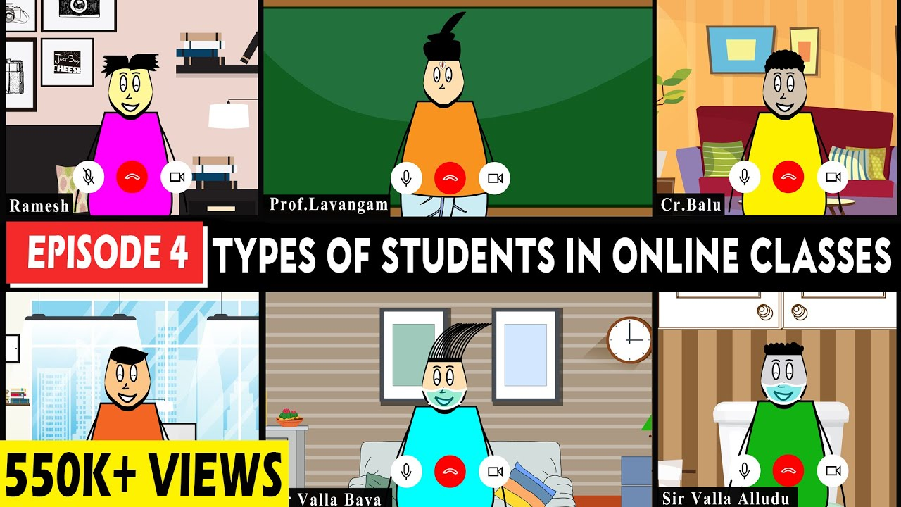 Download Aagam Baa || EPISODE 4: Types of students in online classes||Online Classes Gone Wrong|Telugu comedy