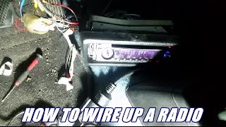 How to wire up your radio from scratch