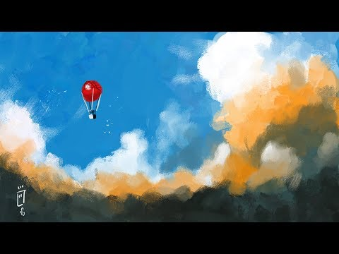 Clouds – Photoshop speed painting