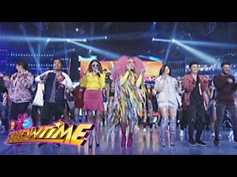 Its Showtime: The hosts perform the unkabogable hits of Vice Ganda