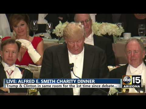 FULL: Donald Trump at Alfred E. Smith dinner