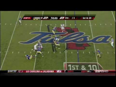 Boise State vs Tulsa 2009
