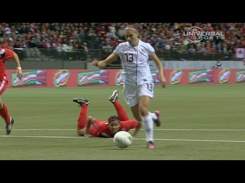 American Soccer Women score 4 on Canada   from Universal Sports