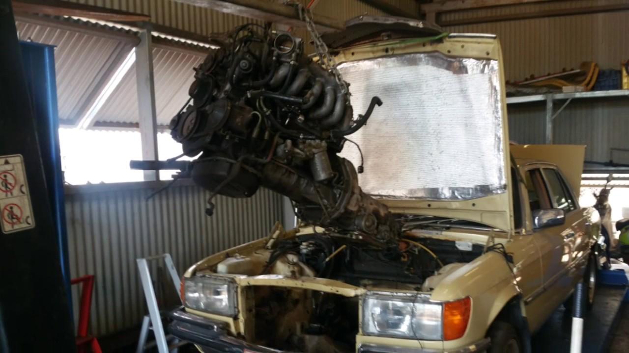 Mercedes w116 engine swap