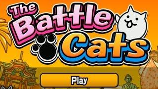 Коты захватят мир The Battle Cats Мульт игра про Котят