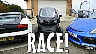 EPIC PIZZA RACE: MONACO VS ITALY!!