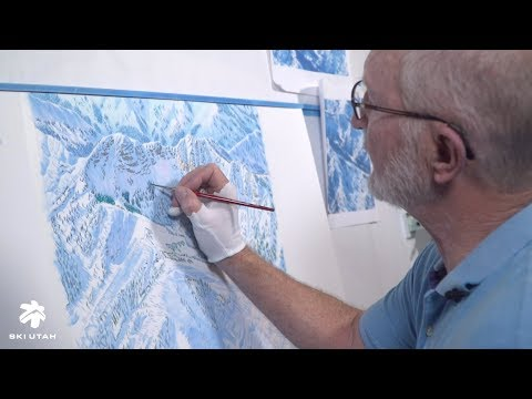 Jim Niehues - The Man Behind The Ski Resort Trail Maps