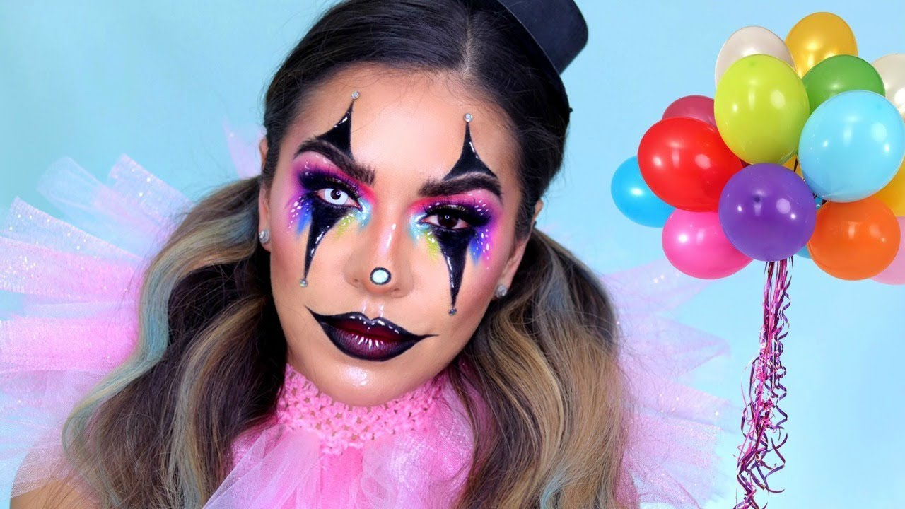 Sexy Creepy Clown/Jester Makeup Tutorial