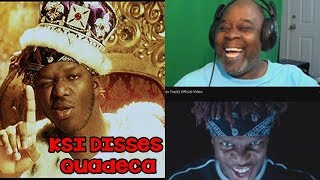 Dad Reacts to KSI - Ares (Quadeca Diss Track) Official Video
