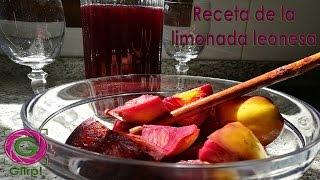 Receta de la tradicional limonada leonesa de Semana Santa - #TurismoGlirp