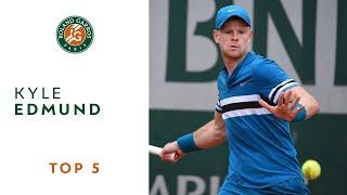 Kyle Edmund - TOP 5 | Roland Garros 2018