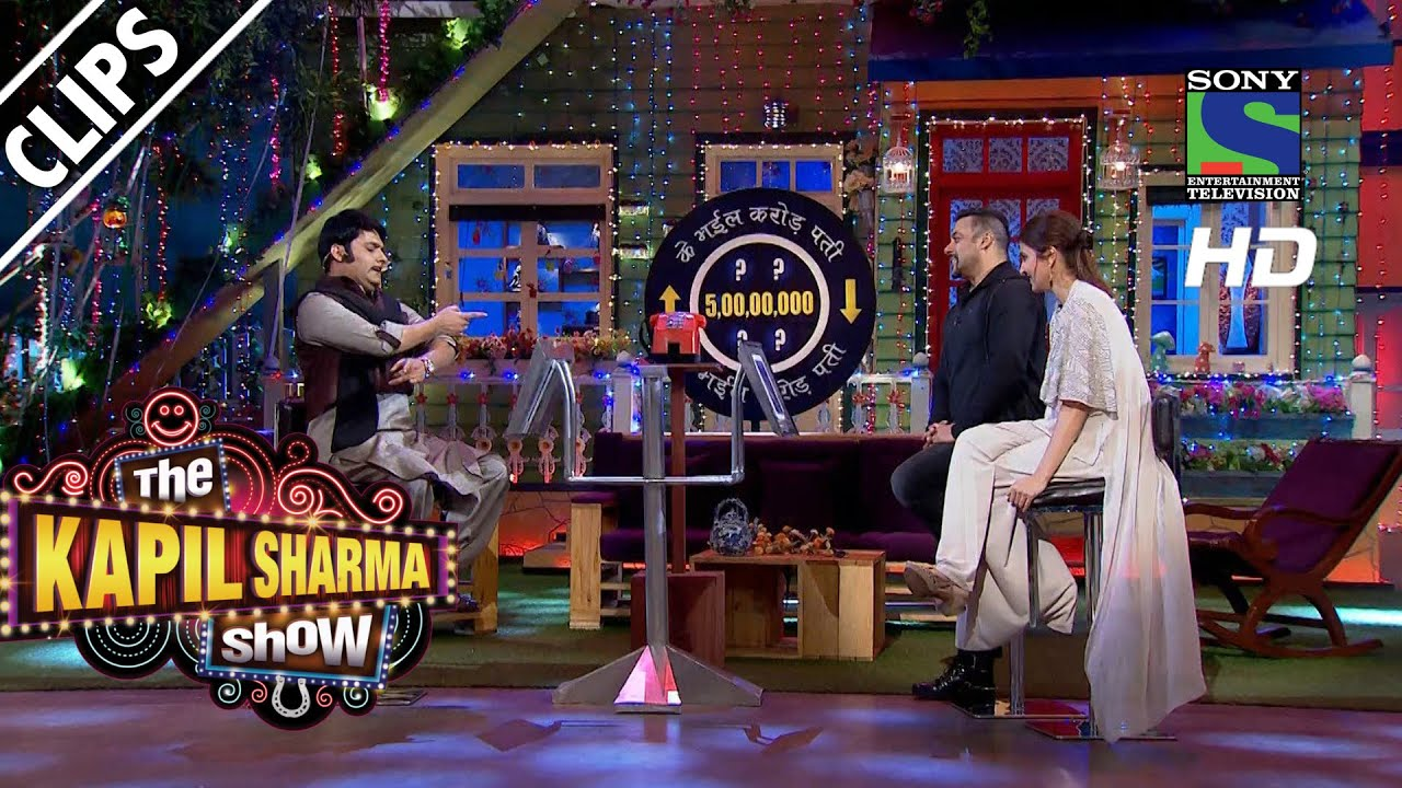 Anushka and Salman on a Live Game Show - The Kapil Sharma Show -Episode 23  - 9th July 2016