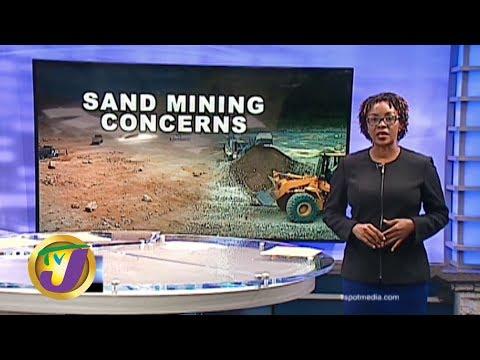 TVJ News: Sand Mining Concerns - February 12 2020