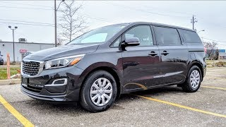 2019 Kia Sedona L Complete Walkaround Review (Base Model)