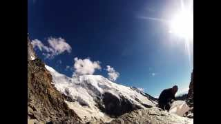 GoPRO timelapse in Mont Blanc