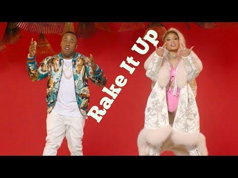Yo Gotti - Rake It Up ft. Nicki Minaj ( Official Lyrics ) | Karaoke Version