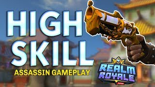 MORE SKILL REQUIRED | Realm Royale Assassin Gameplay