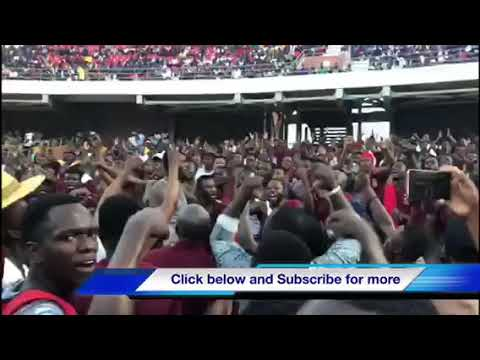Vandals Charging at the Accra Sports Stadium
