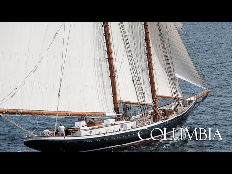 Columbia - 141' Racing/Fishing Schooner Yacht - Construction To Sea Trials