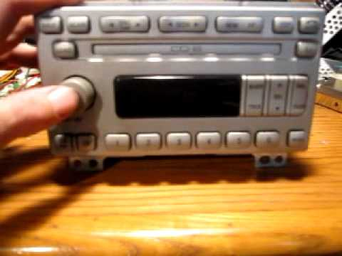 Ford 6 Disc In Dash CD Changer Ship Mode