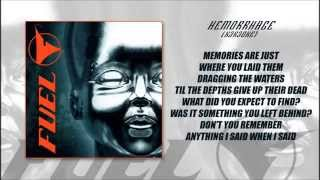 Fuel - Hemorrhage (Karaoke) with Lyrics