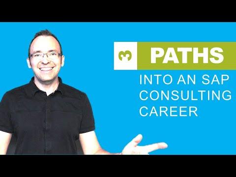 3 Paths To Get Into An SAP Career