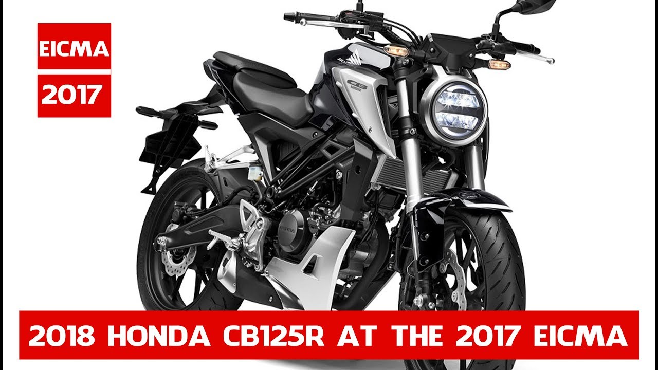 new 2018 honda cb125r 2018 honda cb125r unveiled at the 2017 eicma show 2018 honda cb125r. Black Bedroom Furniture Sets. Home Design Ideas